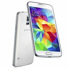 "GALAXY s5 - 16GB - WHITE - BOOST MOBILE 4G LTE NETWORK - GOOD - ""B"" CONDITION"