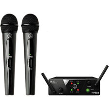 AKG WMS 40 Mini2 Dual Vocal Wireless Microphone System Band A/C