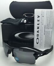 Polarized OAKLEY Sunglasses FLAK 2.0 XL OO9188-08 Black Frames w/ Black Iridium