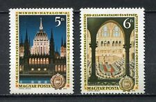 31928) HUNGARY 1972 MNH** Constitution 1v. Scott# 2164/65