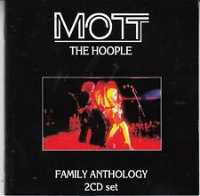 Mott The Hoople - Family Anthology, 2CD Neu