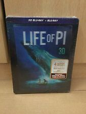 Life of Pi Blu Ray 2D / 3D Steelbook India Version