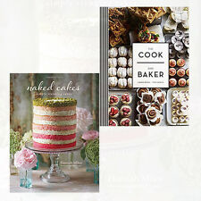 Cherie Bevan & Hannah Miles 2 Books Collection Set Pack NEW Naked Cakes,The Cook