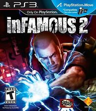 PLAYSTATION 3 PS3 GAME INFAMOUS 2 BRAND NEW & FACTORY SEALED