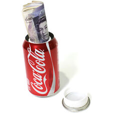 Coca-Cola Coke Can Diversion Safe Stash Box Hidden Valuables Secret Metal