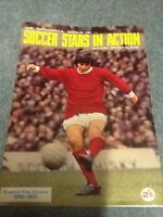 1969/70 SOCCER STARS STICKER ALBUM **part Completed ** VERY RARE