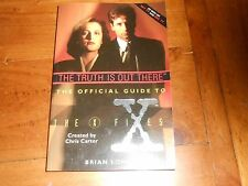 The Truth is Out There Official Guide to The X Files Brian Lowry Paperback Book