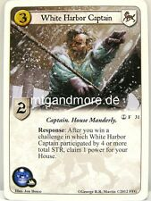 A game of thrones LCG - 1x White Harbor capitán #031 - The Great Fleet