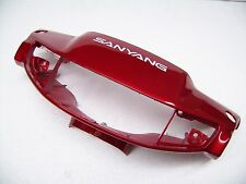 NEW SYM Handlebar cover front red Free, Flash, Pure 50 ET: 5320A-F01-700-RT