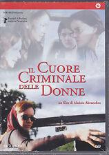 Dvd **IL CUORE CRIMINALE DELLE DONNE** nuovo 2002