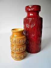 Vintage vases, complement your Orla Keighley with Scheurich Amsterdam Fat lava