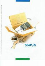 PUBLICITE ADVERTISING 126  1998    Nokia 8810   téléphone portable