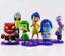 US SELLER! DISNEY INSIDE OUT 6 PCS Figure Sets Cake Toppers, LOW PRICE!
