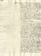 Antico Manoscritto Settecentesco sulla Storia della Chiesa e Via Crucis 1720 c.a
