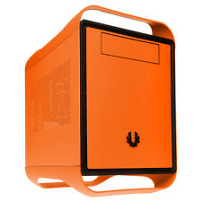 BitFenix Prodigy PC System Build Mini ITX Gaming HTPC SFF Small Case - Orange