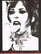 """PUBLICITE ADVERTISING 045  2006  MYLENE FARMER  à BERCY  """"AVANT QUE L'OMBRE"""""""