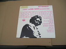 FIRST IN 35 MM RECORDING, BEETHOVEN, SYM NO 6, JOSEF KRIPS, LONDON SYMP, EVEREST