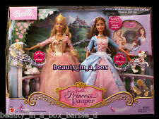 Anneliese Erika Barbie Doll Princess and the Pauper Musical Gift Set Sampler
