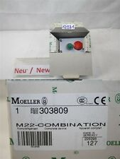 MOELLER  M22-COMBINATION  303809 Drucktaster not aus taster