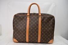 Authentic Louis Vuitton Travel Bag Sirius45 Browns Monogram 90997