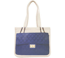 THURSDAY FRIDAY DIAMONDS INDIGO TOGETHER MINI CANVAS TOTE BAG £50!