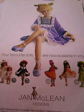 Jan McLean Doll MAGAZINE Ad  / Advertisement ONLY