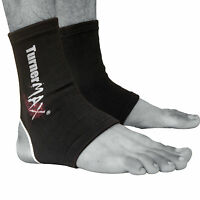 TurnerMAX Ankle Brace Support Pad Guard MMA Foot Muay Thai Boxing Gym Sports Gel