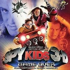 SPY KIDS 3D: GAME OVER: SOUNDTRACK – 18 TRACK CD, COMPOSED BY ROBERT RODRIGUEZ