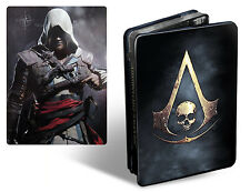 Assassins creed black flag skull edition steelbook collectionneurs tin case no game