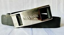 MAX&CO CINTURA DONNA in vera Pelle Genuine leather belt chiusura con velcro