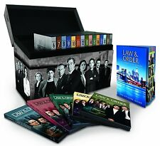 Law & Order ALL Seasons 1-20 Complete DVD Set Collection Series TV Show Box Lot