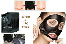 5+1 PCS PILATEN Facial Blackhead Remover Face Peel off Mask  Deep Pore cleansing