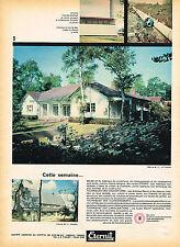 PUBLICITE ADVERTISING 025  1960  ETERNIT  couveture toit plaques
