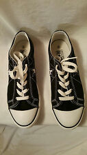 NEW Converse One Star Low Black White Juniors Size 3
