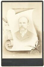 Cabinet Card Funeral Card #1