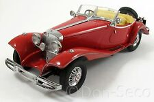 Franklin Mint Precision Models FMPM Mercedes 500K Special Roadster 1935 rot