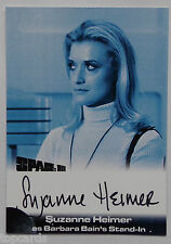 SPACE 1999 AUTOGRAPH CARD Suzanne Heimer as Barbara Bains Stand-in SH2