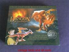 DRAGON OF LEGENDS 87CM LONG (2012 MODEL KIT) PRESS OUT ACTIVITY MODEL KIT