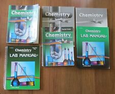 A Beka Chemistry Presicion & Design Student Lab Manuals Test Quiz Key Teacher