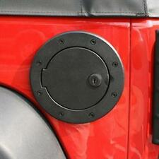 Rugged Ridge Locking Gas Cap Door 2007-2016 Jeep Wrangler JK 11425.06 Black