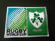 New Rugby World Cup 2015 Badge - Sew on Patch - Ireland