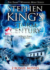 Stephen King's STORM of the CENTURY (1999) 4+ Hour Mini-Series & 2 More Movies