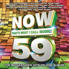 Now That's What I Call Music, Vol. 59 (CD 2016) Chainsmokers Brand New & Sealed