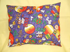 """Snoopy-Charlie-Lucy, """" Peanuts Gang"""" Pillow,  """"Trick or Treat Nite""""  11"""" x 13"""""""