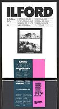 Carta fotografica bianco e nero Ilford 13x18 Multigrade IV De Luxe lucida 100f