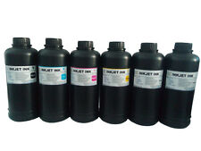 6x500ml Premium Led UV Curable ink for Epson DX5 DX7 Print head printer