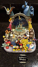 Wishes Disney Snowglobe Tinkerbell Genie Stitch Dopey Ariel Alice Snow White Gus