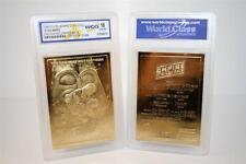 Star Wars EMPIRE STRIKES BACK Movie Poster 23KT Gold Card - Graded GEM MINT 10