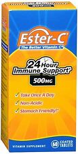 Ester-C 500 mg Coated Tablets 60 Tablets (Pack of 2)