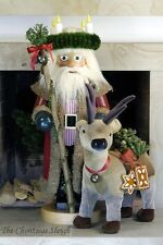 Christian Ulbricht German Wooden Nutcracker Nussknacker - Christmas Time Santa
